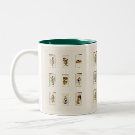 Alice Collection Two-Tone Coffee Mug