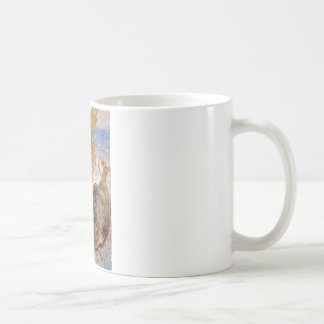 ALICE CONVERSES WITH THE MOCK TURTLE AND GRIFFIN COFFEE MUG