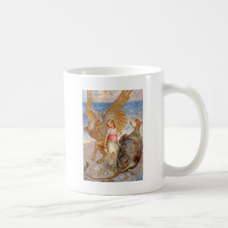 ALICE CONVERSES WITH THE MOCK TURTLE AND GRIFFIN COFFEE MUGS