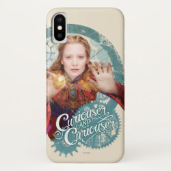 Case-Mate Barely There iPhone X Case with Elsa the Snow Queen's Powers Are Strong design