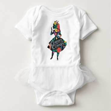 Disney Themed Alice | Curiouser and Curiouser Baby Bodysuit