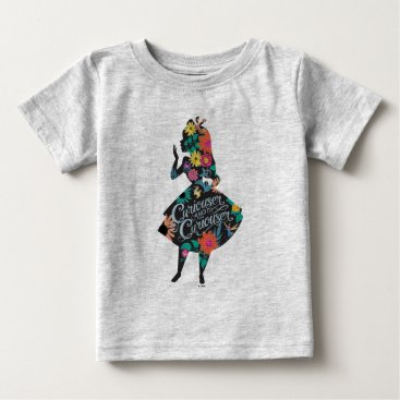 Disney Themed Alice | Curiouser and Curiouser Baby T-Shirt