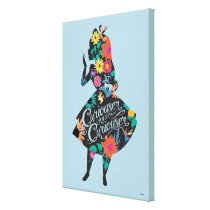 Alice | Curiouser and Curiouser Canvas Print