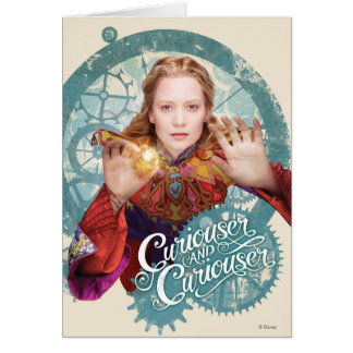 Alice | Curiouser and Curiouser Card