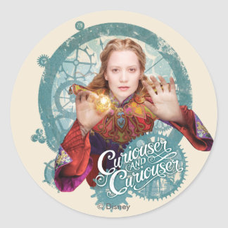 Alice | Curiouser and Curiouser Classic Round Sticker