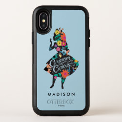 Alice | Curiouser and Curiouser OtterBox Symmetry iPhone X Case