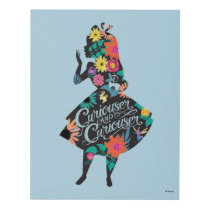 Alice | Curiouser and Curiouser Panel Wall Art