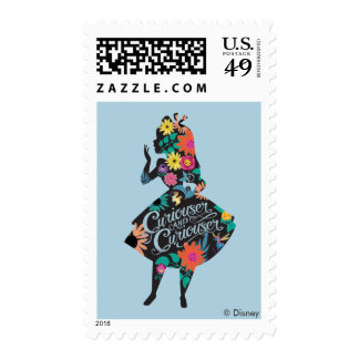Alice | Curiouser and Curiouser Postage