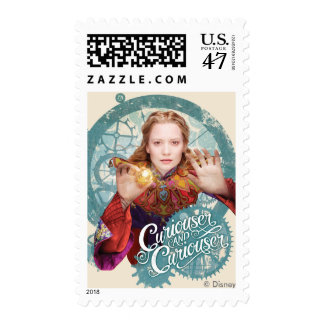 Alice | Curiouser and Curiouser Stamp