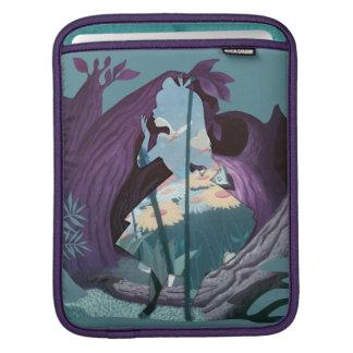 Alice Daisy Field Silhouette in Tulgey Woods iPad Sleeve