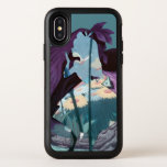 Alice Daisy Field Silhouette in Tulgey Woods OtterBox Symmetry iPhone X Case