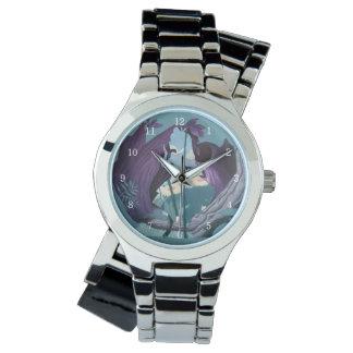 Alice Daisy Field Silhouette in Tulgey Woods Wristwatch