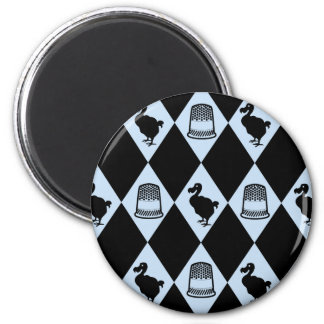 Alice Dodo and Thimble Pattern Magnets