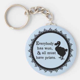 Alice Dodo Everybody Has Won Keychain