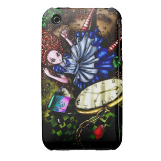 Alice Down the Rabbit Hole iPhone 3 Case