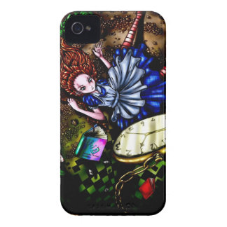 Alice Down the Rabbit Hole iPhone 4 Case-Mate Case
