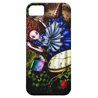 Alice Down the Rabbit Hole iPhone SE/5/5s Case