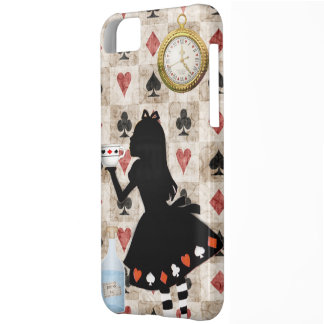 Alice Drinking Tea Case For iPhone 5C