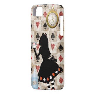 Alice Drinking Tea iPhone 5 Case