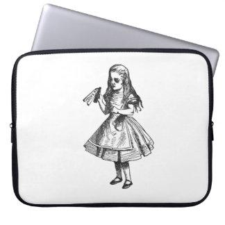 Alice Drinks Laptop Computer Sleeve