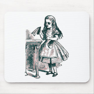Alice Drinks Original Mouse Pad