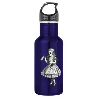Alice Drinks Water Bottle