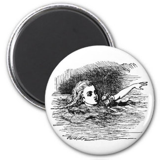 Alice Drowning 2 Inch Round Magnet
