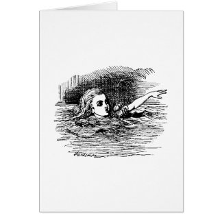 Alice Drowning Card
