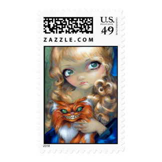 """Alice Enchanted"" Stamp"