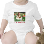 """Alice exclaims, """"I am a Queen!"""" Bodysuits"""
