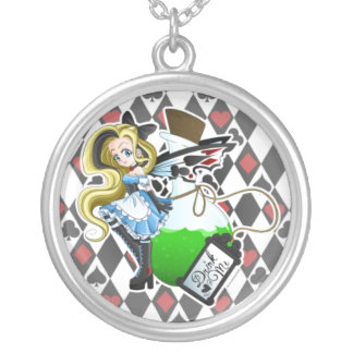 Alice Fairy Drink Me Necklace