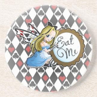 Alice Fairy-Eat Me Anime Coaster