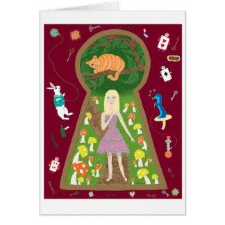 Alice (Fairy Tale Fashion Series #4) Card