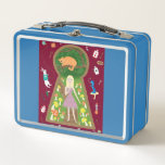Alice (Fairy Tale Fashion Series 4) Metal Lunch Box