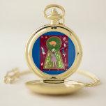 Alice (Fairy Tale Fashion Series 4) Pocket Watch