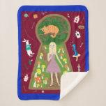 Alice (Fairy Tale Fashion Series 4) Sherpa Blanket