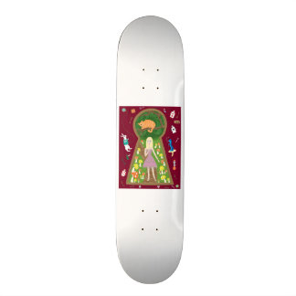 Alice (Fairy Tale Fashion Series #4) Skateboard