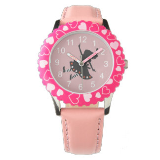 Alice Falling Down The Rabbit Hole Wristwatches