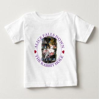 Alice Falls Down the Rabbit Hole To Wonderland Shirt