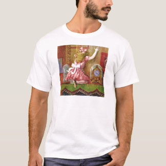 Alice Falls Through the Living Room Mirror T-Shirt