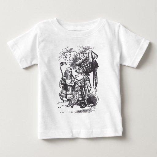 Alice, Flamingo and Duchess Tee Shirt