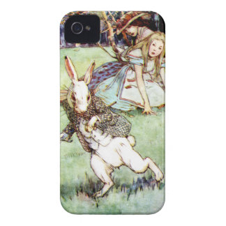 Alice Follows the White Rabbit To Wonderland iPhone 4 Cover