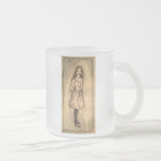 Alice Frosted Glass Coffee Mug