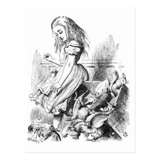 Alice Gives Evidence Postcard