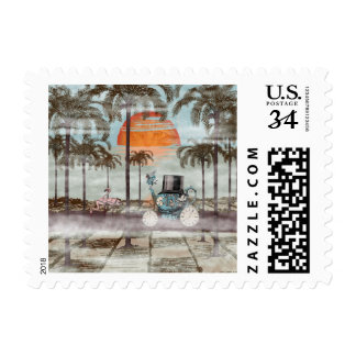 Alice Goes to California Postage Stamp