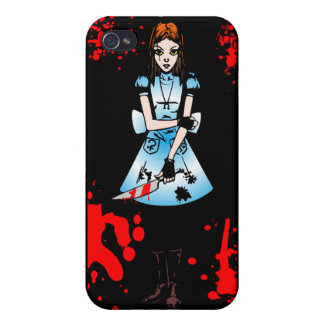 Alice Goth Cases For iPhone 4