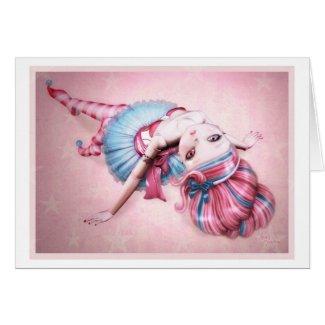 Alice greeting card by crazyjane