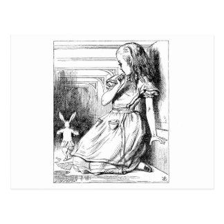 Alice Grown Big Postcard