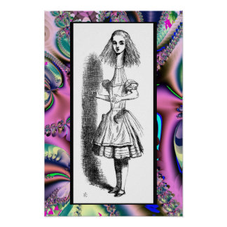 Alice Grown Tall - Alice in Wonderland Poster