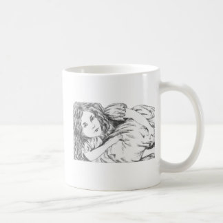 Alice Grows by Lewis Carroll Coffee Mug